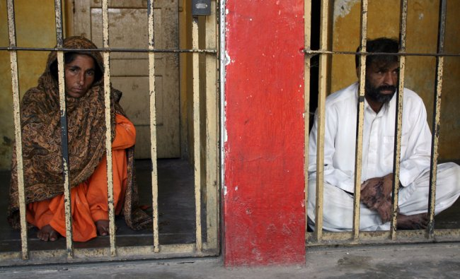 Pakistani couple who killed their daughter by dousing her in acid