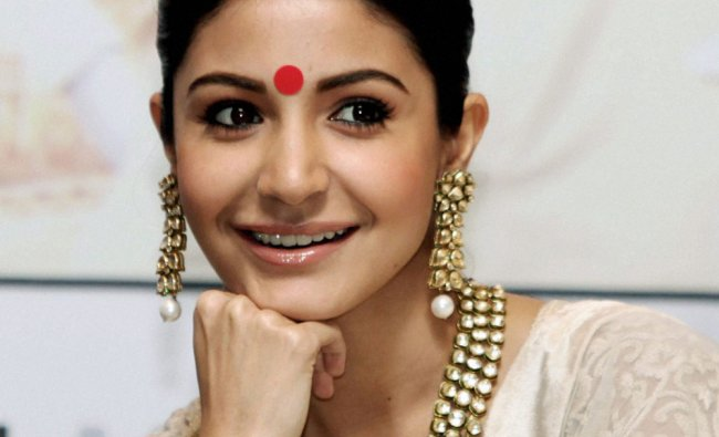 Bollywood actress Anushka Sharma at a promotional event for her new film \'Jab Tak hai Jaan\' in...