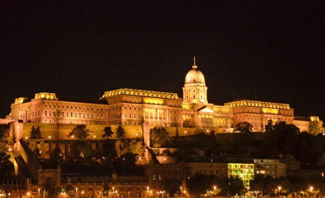 The Buda Castle on Buda Hill, Budapest, Hungary