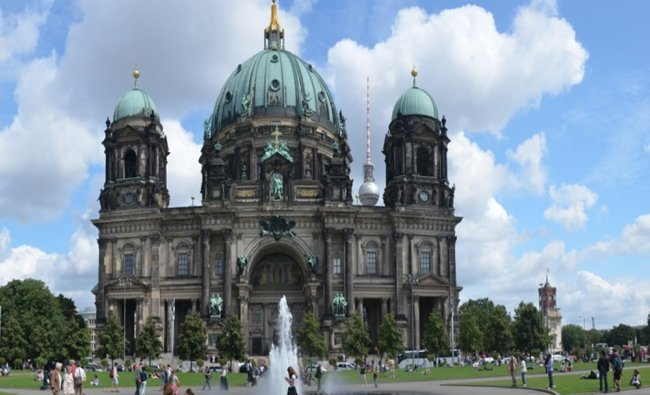 The Berliner Dom in Germany