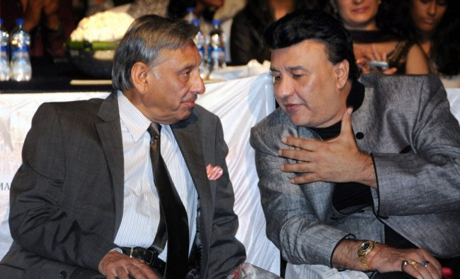 Congress MP Manishankar Aiyar and Music director Anu Malik during Mother Teresa awards ceremony...