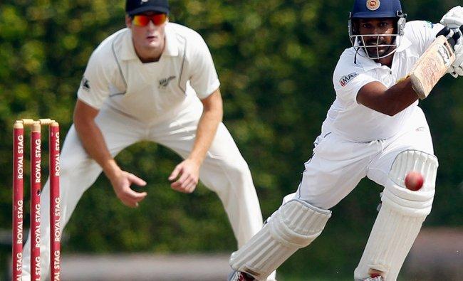 Sri Lanka\'s Prasanna Jayawardene during the final day of test against New Zealand...
