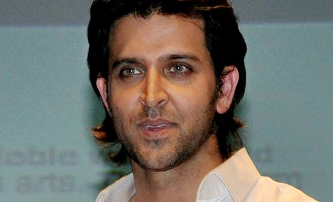 Hrithik Roshan during the launch of India First Online Film Making Course in Mumbai...