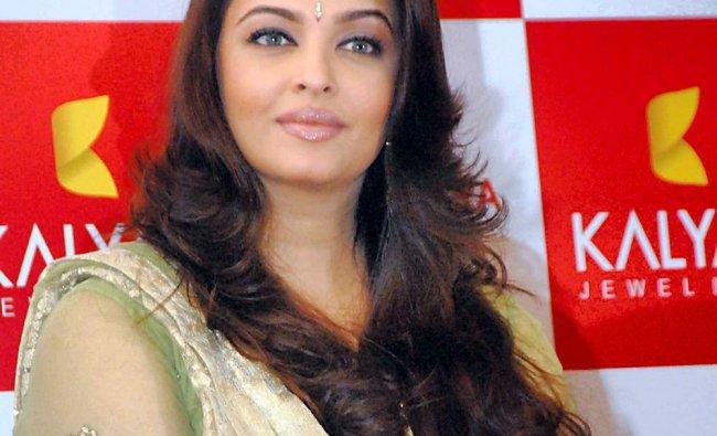 Actress Aishwarya Rai Bachchan at a function in Vadodara on Sunday....