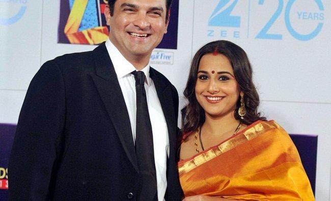 Bollywood actress Vidya Balan and her husband Siddharth Roy Kapur, CEO, UTV Motion Pictures, at...