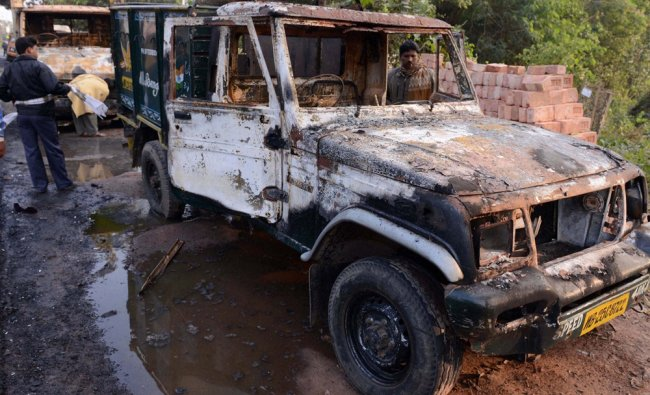 Vehicles set on fire following clashes between TMC supporters and left workers