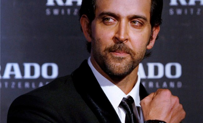 Bollywood actor Hrithik Roshan launch Rado HyperChrome collection in Mumbai on Tuesday night