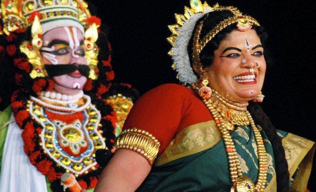 Artists perform during a cultural programme \'\'Chalo Mann Ganga Jamuna Teer\'\' at the Maha Kumbh Mela
