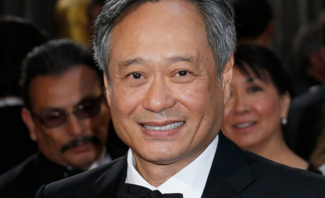 Director Ang Lee arrives at the Oscars at the Dolby Theatre on Sunday Feb. 24, 2013, in Los Angeles.
