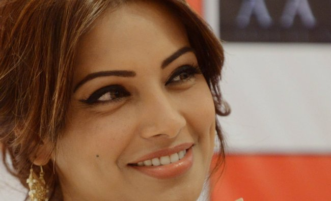 Bollywood actress Bipasha Basu during a promotional event for the forthcoming Hindi fim \'Aatma\' ...