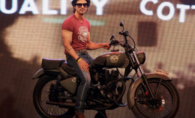 Actor Arjun Rampal on the ramp at a fashion event in in Mumbai on Wednesday.