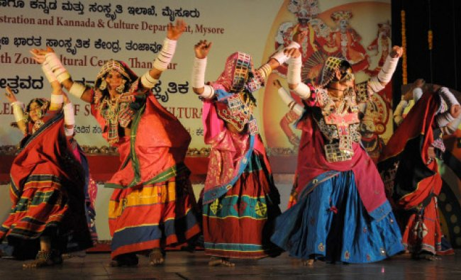 Artistes of Labanis performed the Lambanis dance in silver jubilee celebration of south zone...