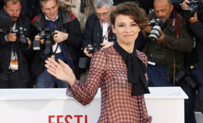 Cast member Jasmine Trinca poses during a photocall for the film \'Miele\' at the 66th Cannes Film...