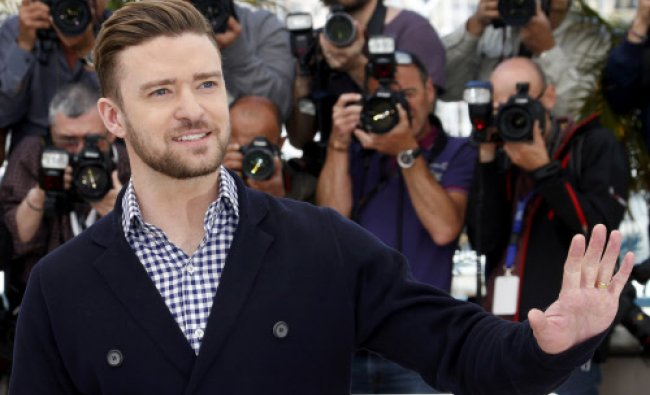 Cast member Justin Timberlake poses during a photocall for the film \'Inside Llewyn Davis\'...