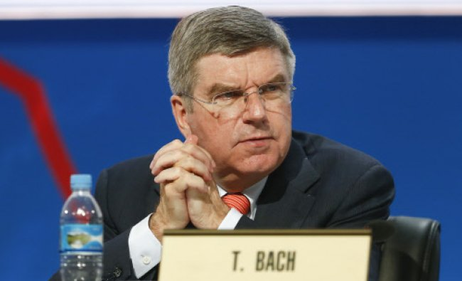 Thomas Bach of Germany elected as the IOC president, succeeding Jacques Rogge. AP Photo