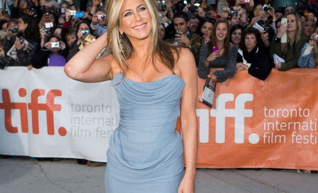 Jennifer Aniston arrives for the \'Life of Crime\' gala screening at the 38th Toronto International...