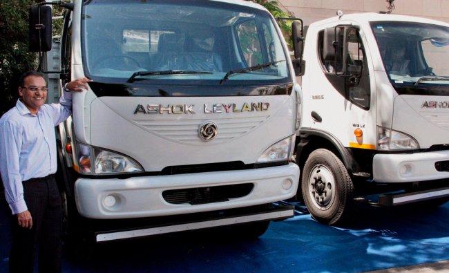 Ashok Leyland launches their new trucks in Coimbatore ...