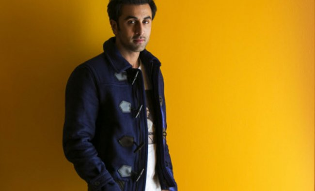 Bollywood actor Ranbir Kapoor poses for a portrait while doing interviews regarding his new film