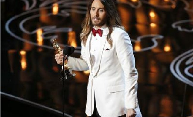 Jared Leto, best supporting actor winner for his role...