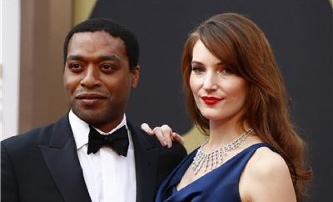 Chiwetel Ejiofor, best actor nominee for his role in \