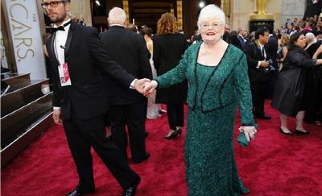 June Squibb, best supporting actress nominee for her role in \