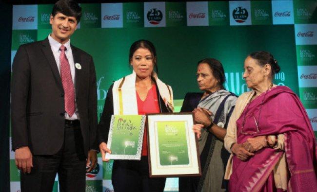 President of Coca Cola, India & South West Asia, Venkatesh Kini presents Limca Book...