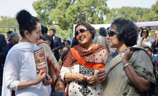 International Women\'s Day celebration at Ministry of External Affairs in New Delhi on Saturday.