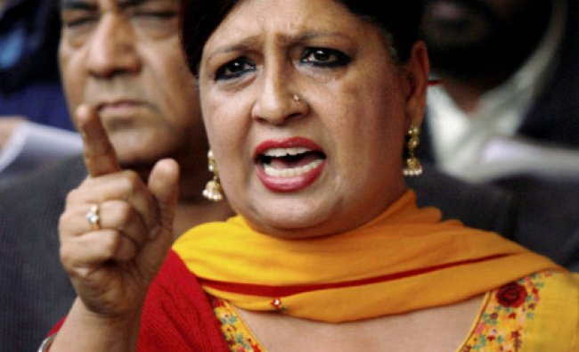 Savita Bhatti, who opted out of Lok Sabha polls as Aam Aadmi Party\'s candidate, speaks to the ...
