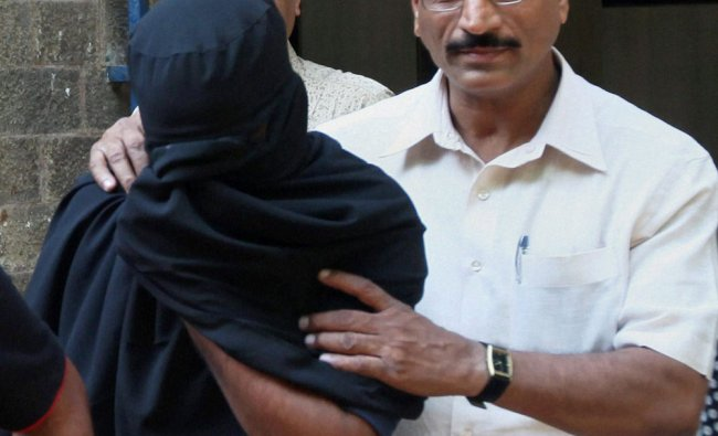 Chandrabhan Sanap arrested in connection with Ester Anuya killing case is produced at a local court