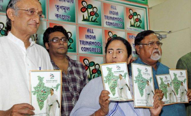 All India Trinamool Congress chief and West Bengal Chief Minister Mamata Banerjee...