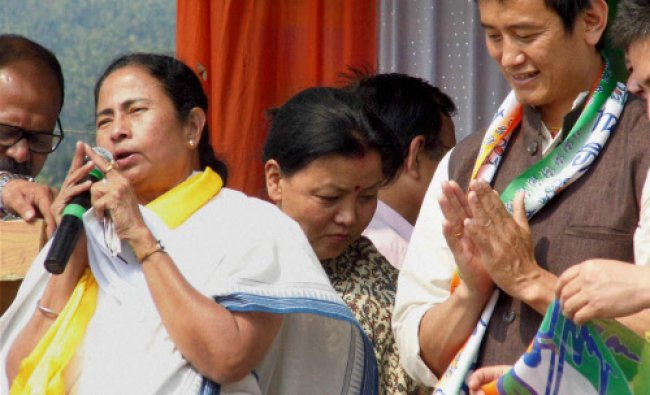 West Bengal Chief Minister and Trinamool Congress supremo Mamata Banerjee speaks...