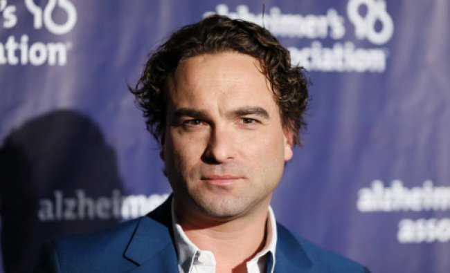 Actor Johnny Galecki poses at the 22nd annual \'A Night at Sardi\'s\' to benefit the Alzheimer\'s ...