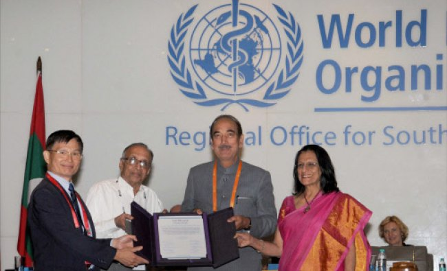 Chairperson of South-East Asia Regional Certification Commission for Polio Eradication...