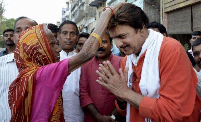 Bhojpuri film star and Congress Lok Sabha candidate for Patna Sahib, Kunal Singh seeks...
