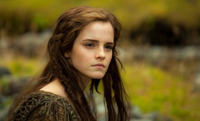 This image released by Paramount Pictures shows Emma Watson in a scene from ...