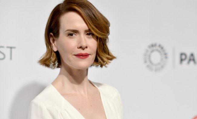 Sarah Paulson arrives at PALEYFEST 2014 - \'American Horror Story: Coven\' at the Kodak Theatre ...