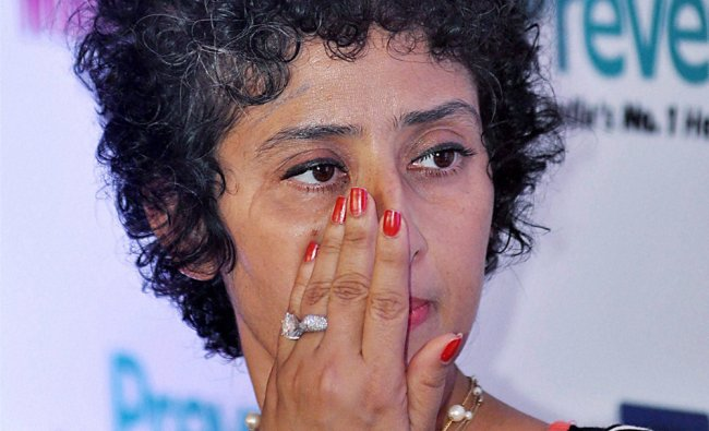 Manisha Koirala during the launch of 7th anniversary cover of health magazine Prevention in Mumbai .