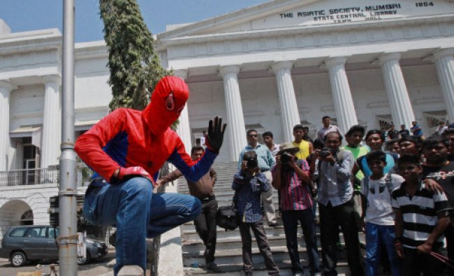 Famous spiderman climber, Gaurav Sharma who will contest Lok Sabha elections as an independent...
