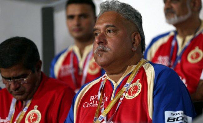 Vijay Mallya, owner of Royal Challangers Banglore at Pepsi Indian Premier League Season 7...