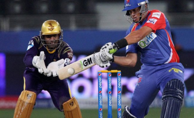 Ross Taylor of the Delhi Daredevils during match 6 of the Pepsi Indian Premier League...