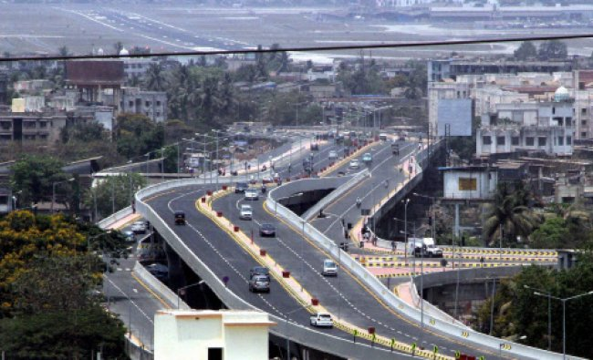 After 10 long years the Santa Cruz-Chembur Link Road was finally thrown open to public in...