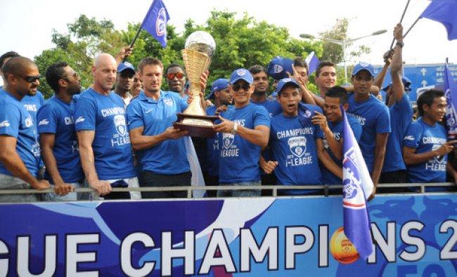 Bengaluru FC coach Ashley Westwood, captain Sunil Chhetri