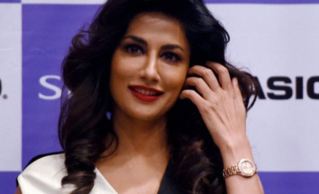 Chitrangada Singh during the launch of Casio Sheen watches in Mumbai...