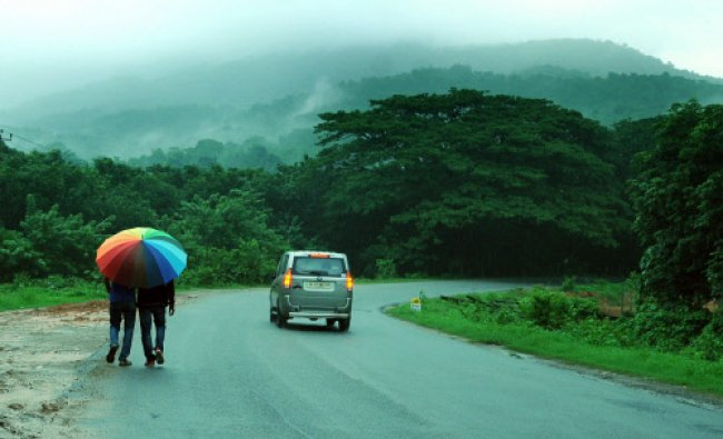 Though these mist covered mountain are a common site for the locals, it is Paradise on earth for...