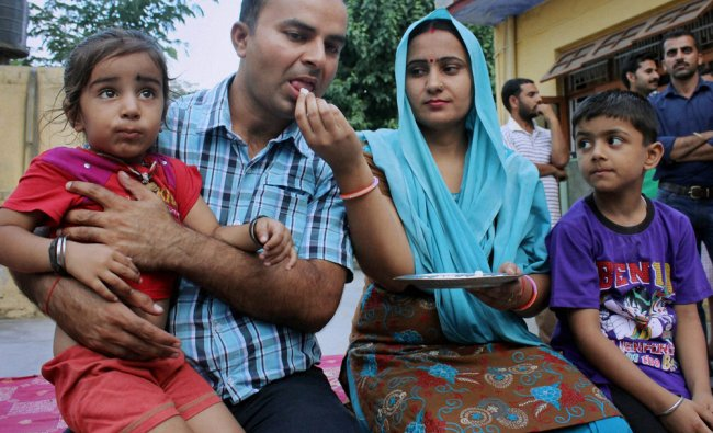 Rajesh Kumar, one of 40 Indian workers abducted in the Iraqi city of Mosul by militants ...
