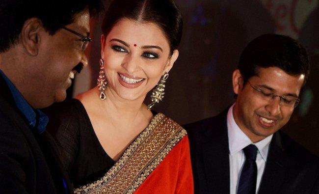 Aishwarya Rai Bachchan at a promotional event in Chennai...