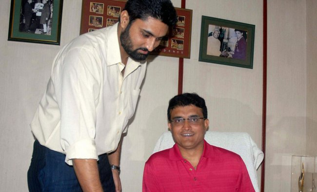 Sourav Ganguly at his office after being elected the Joint Secretary of CAB ...