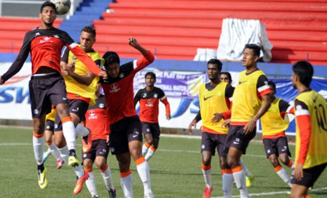 Indian Football Team Practice For The 2nd Friendly Match Against Pakistan ...