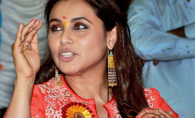 Rani Mukerjee during the inauguration of self defence workshop for BMC school girls in Mumbai ...