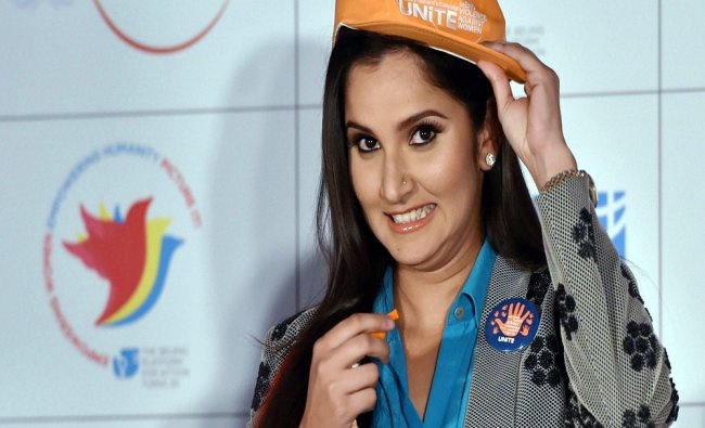 Indian tennis player Sania Mirza blows whistle to joins campaign...
